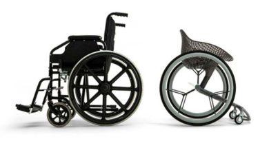 Инвалидную коляску распечатали на 3d принтере