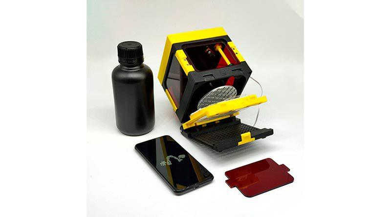 Напечатанный 3d принтер LumiBee