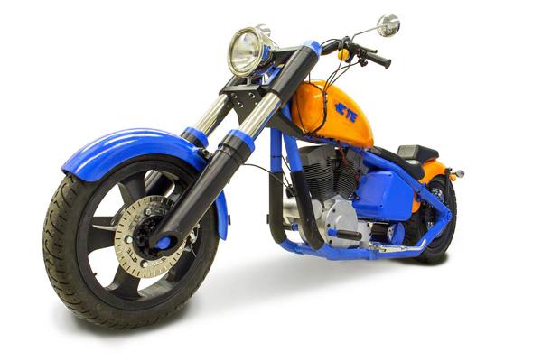 Компания TE Connectivity-X создала мотоцикл при помощи 3d печати